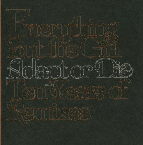 Everything But The Girl Adapt Or Die Ten Years Of Rem CD R Digipak