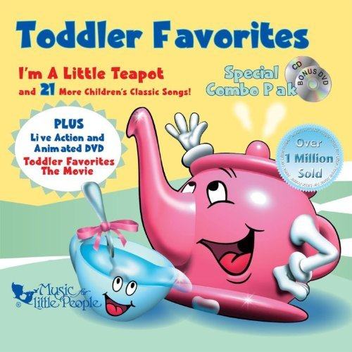 Favorites Series Toddler Favorites The Movie (c Incl. DVD