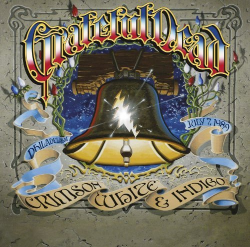 Grateful Dead Crimson. White & Indigo July 3 CD Incl. DVD