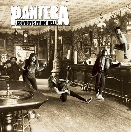 Pantera Cowboys From Hell Explicit Version 2 Lp