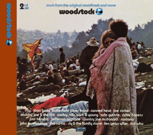 Woodstock Music From The Original Soundt 2 CD Set