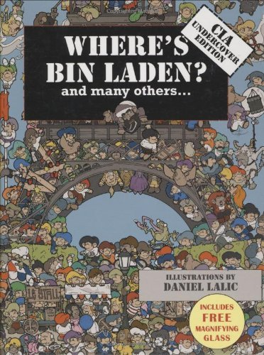 Daniel Lalic Where's Bin Laden (mini) Cia Undercover Edition [with Magnifying Card]