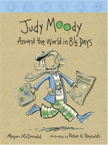 Megan Mcdonald Judy Moody Around The World In 8 1 2 Days