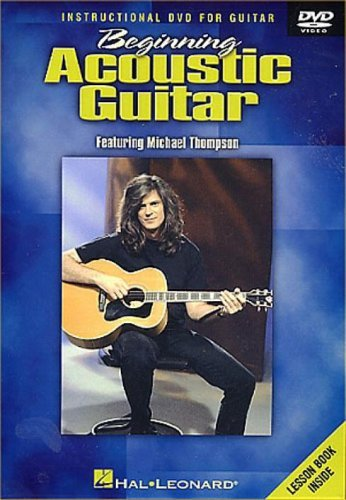 Michael Thompson Beginning Acoustic Guitar DVD