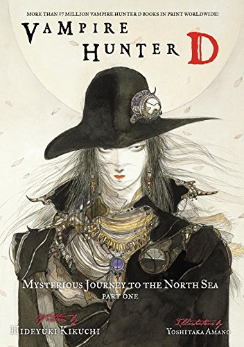 Hideyuki Kikuchi Vampire Hunter D Volume 7 Mysterious Journey To The North Sea Part One