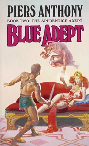 Piers Anthony Blue Adept