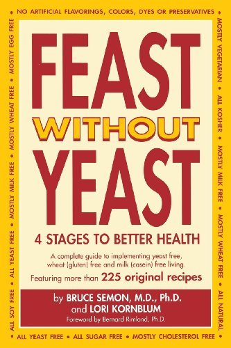 Jeanie Semon Feast Without Yeast 4 Stages To Better Health