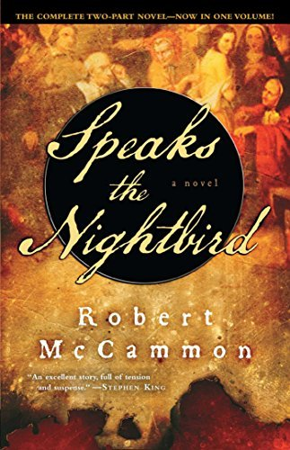 Robert Mccammon Speaks The Nightbird