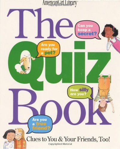 Laura Allen Quiz Book The Clues To You & Your Friends Too!