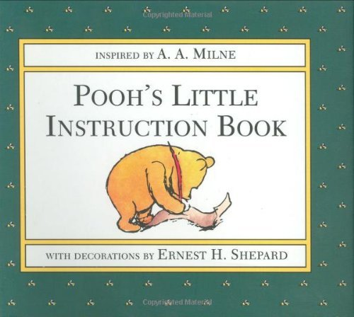 A. A. Milne Pooh's Little Instruction Book Action Packs