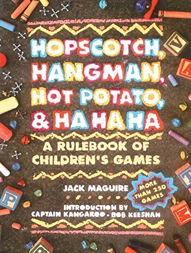 Jack Macguire Hopscotch Hangman Hot Potato & Ha Ha Ha A Rulebook Of Children's Games