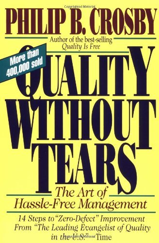 Philip B. Crosby Quality Without Tears The Art Of Hassle Free Management Revised