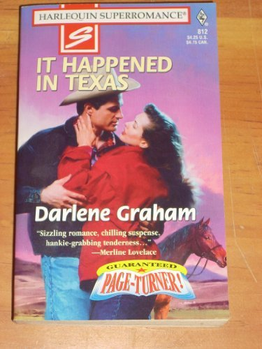 Darlene Graham It Happened In Texas