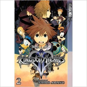 W Kingdom Hearts Ii Volume 2 (july 2008)