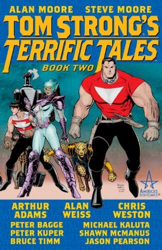 Alan Moore Tom Strong's Terrific Tales Book Two