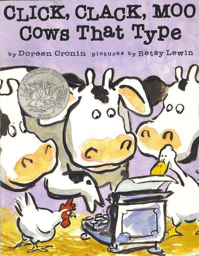 Doreen Cronin Click Clack Moo Cows That Type