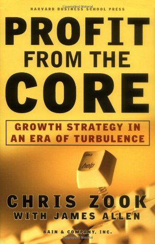 Chris Zook Profit From The Core Growth Strategy In An Era Of Turbulence
