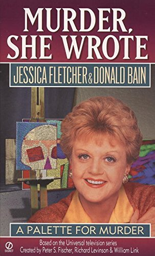 Jessica Fletcher A Palette For Murder