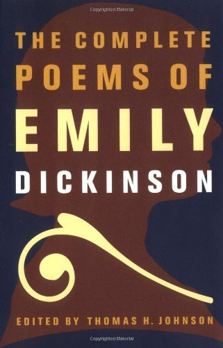 Emily Dickinson The Complete Poems Of Emily Dickinson