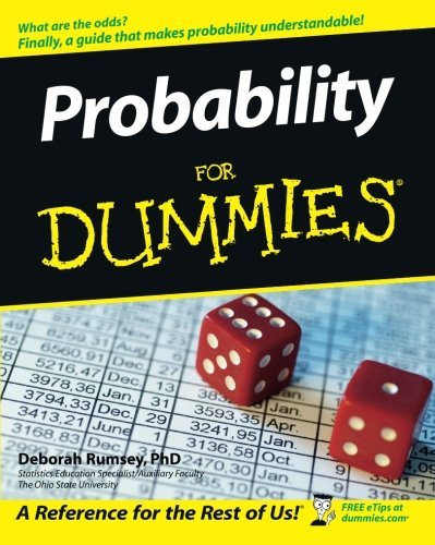 Deborah J. Rumsey Probability For Dummies