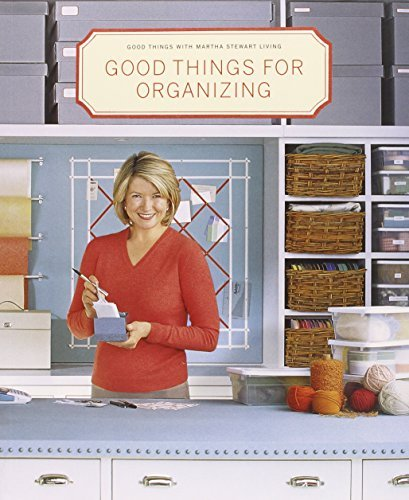 Martha Stewart Living Magazine Good Things For Organizing