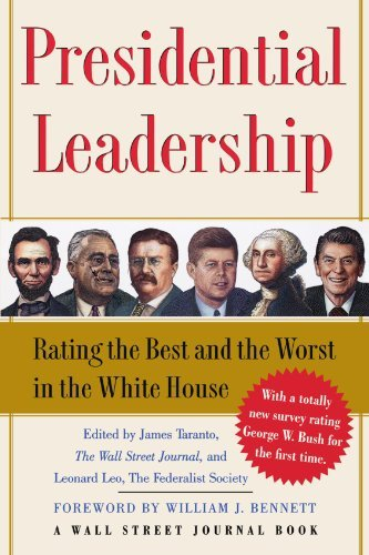 James Taranto Presidential Leadership Rating The Best And The Worst In The White House