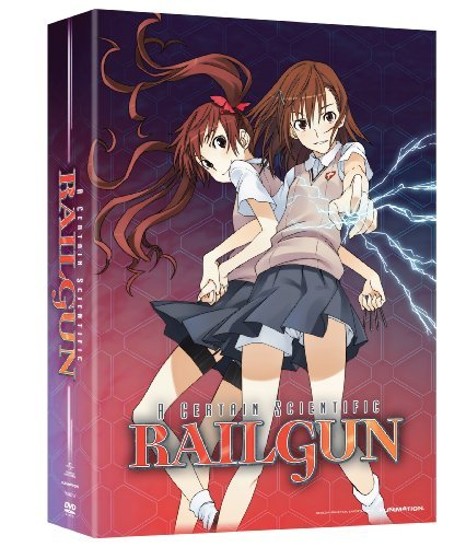 Certain Scientific Railgun Season 1 Part 1 DVD Limited Edition Tv14