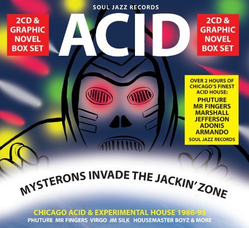 Acid Mysterons Invade The Jack Chicago Acid & Experimental Ho 2 CD