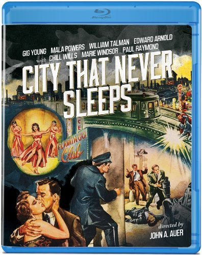 City That Never Sleeps (1953) Young Powers Talman Windsor Blu Ray Ws Nr
