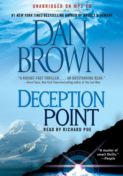 Dan Brown Deception Point Mp3 CD