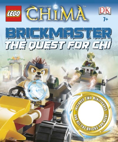 Hannah Dolan Lego Legends Of Chima Brickmaster The Quest For Chi [with 2 Minifigures Legos]