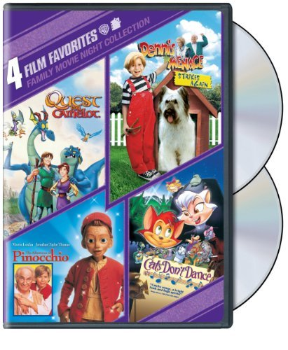 Family Movie Night 4 Film Favorites Pg 2 DVD