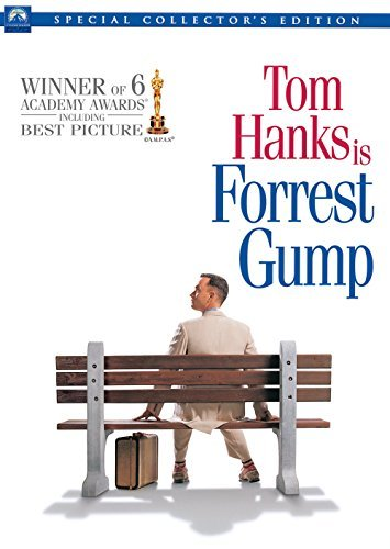 Forrest Gump Hanks Field Wright Williamson DVD Pg13