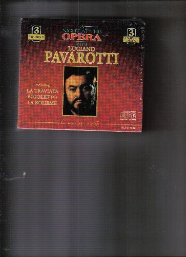 Various Various Various Luciano Pavarotti A Night At The Opera With Luciano Pavarotti