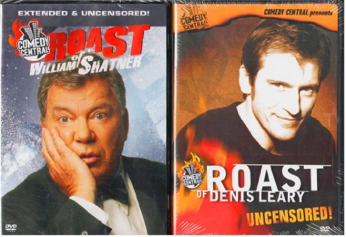 Comedy Central Roast William Shatner Denis Leary DVD Unrated
