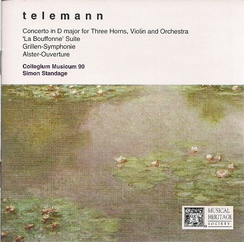 Telemann Concerto In D Major For Three Horns Violin And Or