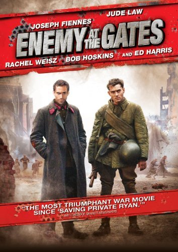 Enemy At The Gates Fiennes Law Weisz Hoskins Harr DVD R