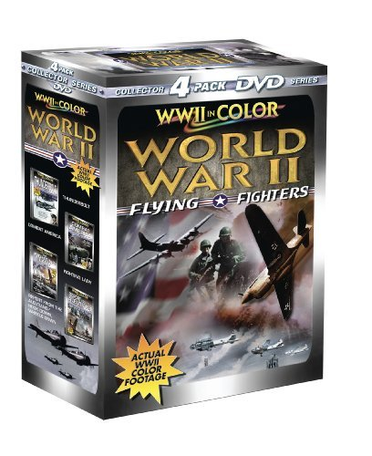 Flying Fighters World War 2 In Color Clr Nr 4 DVD
