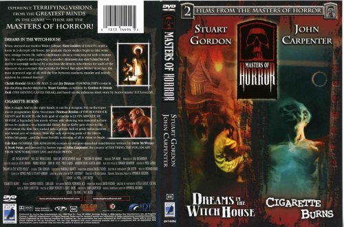 Masters Of Horror Dreams In The Witch House Cigarette Burns DVD