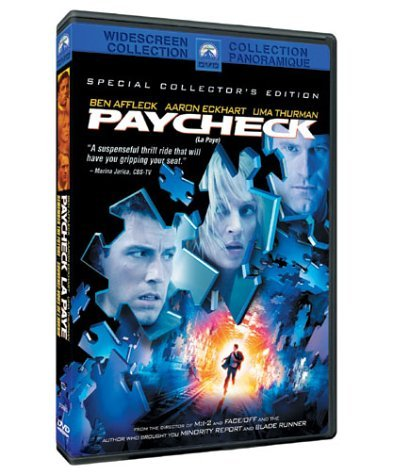 Unknown Paycheck (widescreen Special Collector's Edition) Ws