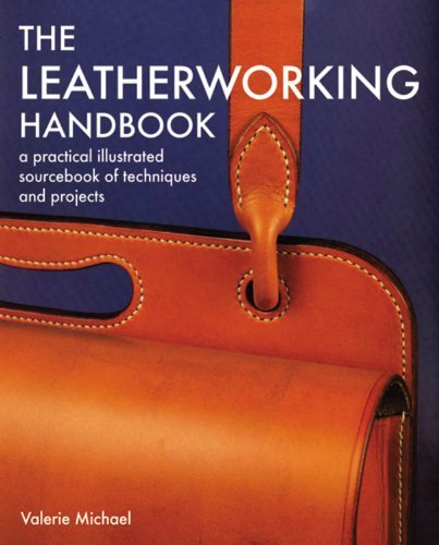 Valerie Michael The Leatherworking Handbook A Practical Illustrated Sourcebook Of Techniques