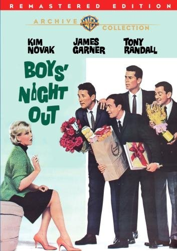 Boys' Night Out (remastered) Novak Garner Randall Ws DVD R Nr