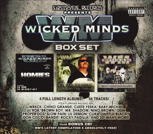 Wicked Minds Boxset Explicit Version 4 CD