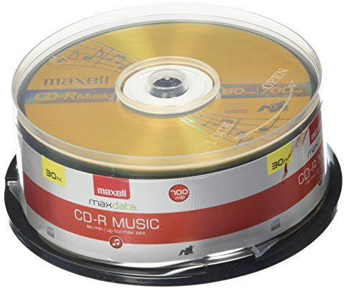 CD R 80 30pak Spindle (audio) 8