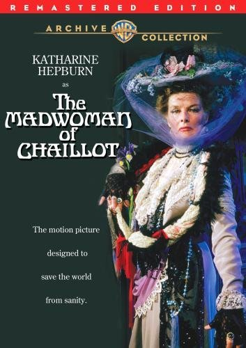 Madwoman Of Chaillot (remaster Hepburn Boyer Dauphin Made On Demand G