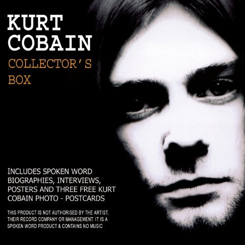 Kurt Cobain Collector's Box 3 CD Booklet Poster Postcards