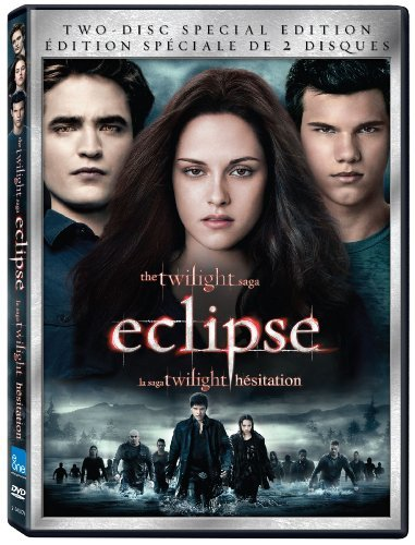 Twilight Eclipse Stewart Pattinson Lautner 2 Disc DVD