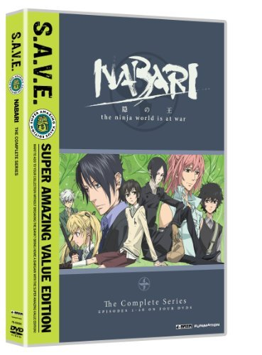 Nabari No Ou Complete Series S.A.V.E. Tv14 4 DVD