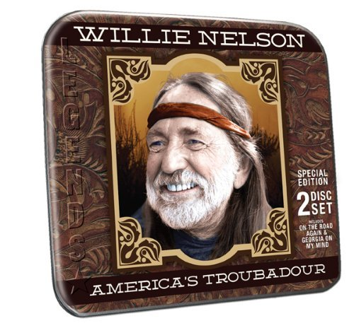 Nelson Willie America's Troubadour Collector's Tin