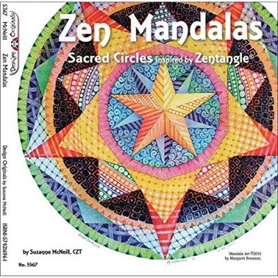 Suzanne Mcneill Zen Mandalas Sacred Circles Inspired By Zentangle